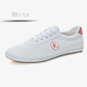 Chinese Tai Chi Kungfu Shoes Martial Arts Sneakers Unisex Sport Canvas Footwear