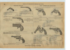 1915 PAPER AD Remington Double Derringer Pistol Forehand Arms Co Revolver Pocket