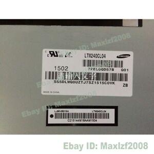 "LCD Screen Display Panel For Samsung 24"" LTM240CL04 1920*1200  TFT Repair"