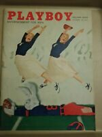 Playboy - October, 1956 *Very Good Condition(MAYBE BETTER) * Free Shipping USA
