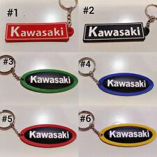 RUBBER KAWASAKI MOTORCYCLE KEYCHAIN KEY RING COLLETABLES  GIFT
