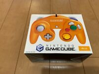 Nintendo GameCube Controller DOL-003 Orange Color with BOX and Manual