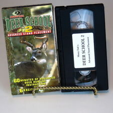 Mossy Oaks Deer School 2 Advanced Stand Placement 6 Hunts 60 Minutes VHS