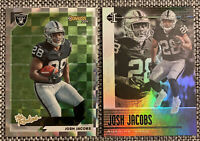 Josh Jacobs RC 2019 Illusions Rookie Card And 2019 Donruss The Rookies - Raiders