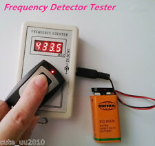 Frequency Detector Tester Counter Car Key Remote Control Checker RF 250-450MHZ
