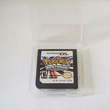 Pokemon platinum Version Game Card 3DS NDS NDSI