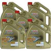 5x5 Liter Castrol EDGE Titanium FST 5W-30 LL Motoröl Motorenöl Engine Oil