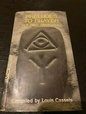 Preludes to Prayer 365 Daily Meditations non-fiction christian religion Book
