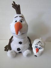 "Authentic Disney Store FROZEN Olaf Large Doll Snowman 14"" & MUG CUP PLASTIC"