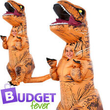 Inflatable T-Rex Jurassic World Fancy Dress Halloween Kids Dinosaur Costume New