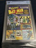 GIANT BATMAN ANNUAL Replica Edition #1  9.8 (1999) DC Reprint CBCS Like CGC