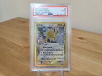 Pokemon PSA 9 Mint Jolteon Ex Delta Species Holo Foil 7/113 2005 Rare Card Eevee