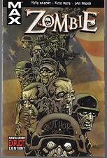 Zombie by Mike Raicht & Kyle Hotz Marvel Max 2007, TPB Marvel Comics 1st Print