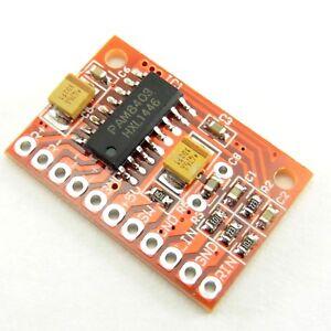 Mini Digital Amplifier PAM8403 2x3W 5V Stereo Channels Power Board Class D 8403