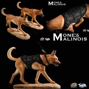 JXK JXK019 1/6 Scale Malinois Dog Animal Model Toy Action Figure Collection Gift