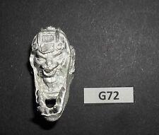 WARHAMMER Fantasy Orchi & Goblin punte di metallo di ricambio testa GIGANTE 2 G 72