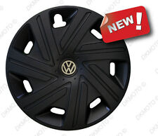 "4x15"" Wheel trims for VW GOLF CADDY GOLF TOURAN POLO  black full set 4 x 15''"