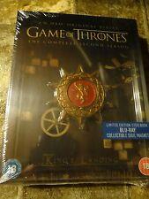 Game of Thrones: Season 2 Blu-ray Steelbook Region Free