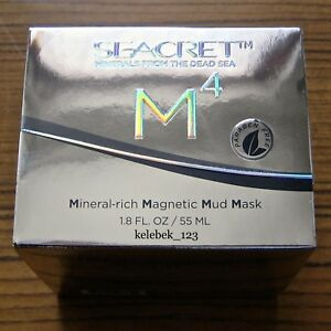 SEACRET M4–MINERAL-RICH MAGNETIC MUD MASK / MAGNETISCHE SCHLAMM-MASKE 55 ml NEU