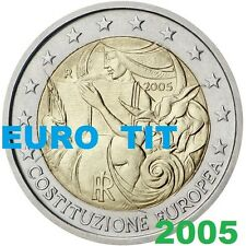 2 €    ITALIE   COMMEMORATIVE   2005   1  X  PIECE  NEUVE     /      Disponible