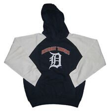 New Boy's MLB Detroit Tigers Hoody Sweatshirt Medium (10-12) Baseball