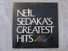 NEIL SEDAKA ~ GREATEST HITS   VINYL RECORD LP / 1976 ROCKET RECORD COMPANY