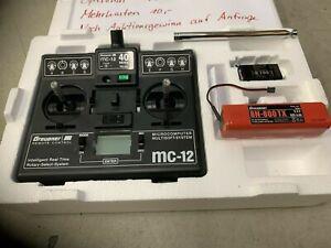 Graupner MC12 40Mhz Set (Sender+Empfänger)