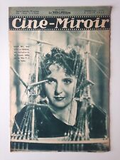 CINE MIROIR N°583 5 JUIN 1936 COUV MARIE BELL