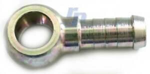 Ringöse, Ringnippel 10 mm, 8 mm Schlauchanschluss für Hohlschraube raceparts cc