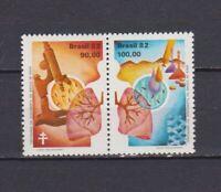 s19057) BRASILE BRAZIL  MNH** Nuovo** 1982 Anti Tuberculosis 2v