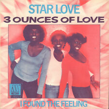 """3 OUNCES OF LOVE – Star Love (1978 NEAR MINT MOTOWN VINYL SINGLE 7"""" HOLLAND)"""