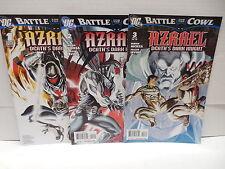 Azrael Death's Dark Knight DC Comic Books 1-3 Battle For Batman Cowl Nicieza