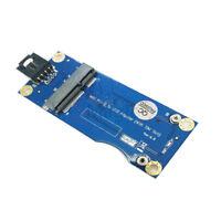 Mini PCI-E to USB Adapter With SIM card Slot for WWAN/LTE Module Horizontal