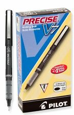 12 - PILOT Precise V7 Fine Needlepoint Rollerball Pen - NEW In Box - BLACK INK
