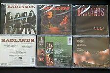 3CD Badlands-Badlands 1989 Voodoo Highway 1991 Dusk 1999 [brand new & sealed]