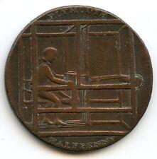 Royaume-Uni Plymouth Halfpenny token 1796