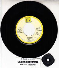 "THE BEACH BOYS  Peggy Sue & Hey Little Tomboy 7"" 45 record NEW + jukebox strip"