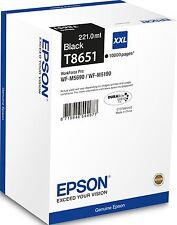 ORIGINAL Epson Cartouches couleur noir C13T865140 T8651 MHD 12/2020