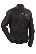 Cappotti e giacche da uomo bottone automatici pelle