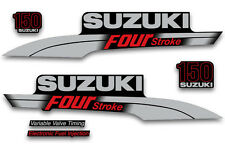 Outboard Engine Sticker Suzuki 150hp FourStroke Marine Decal Kit For Boat Motor