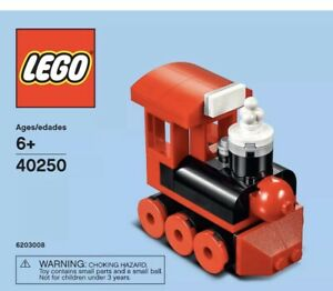 LEGO Mini Train Set 40250 December 2017 Monthly Build Polybag NEW Free Shipping