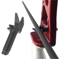 1pcs Archery Arrow Rest Center Plastic Screw Recurve Compound Bow Target Hunting