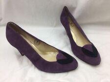 Formal Regular Size Suede Upper Shoes for Women