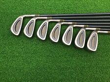 NICE Maruman Golf TITUS WA-2 Titan Face Iron Set 4-PW Right Graphite LADIES Used