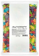 Albanese Candy Gummi Rainforest Frogs 5-pound Bag Great Taste Kids Treats Large
