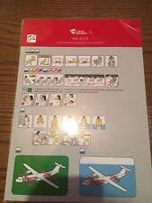 SAFETY CARD Czech-Airline ATR 42/72