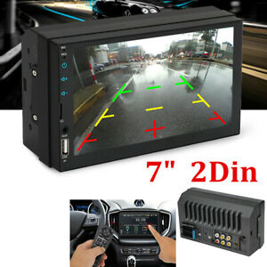 """7"""" Inch Car Stereo Radio HD Mp5 Player Touch Screen Bluetooth Radio Double 2Din"""