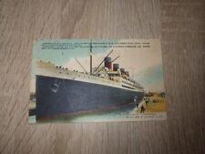 CPA CARTE POSTALE / Dept. 76 Seine Maritime PAQUEBOT FRANCE Daté 31-5-1914
