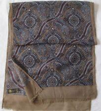 Écharpe en 100% pure laine  vintage Scarf  45 x 160 cm