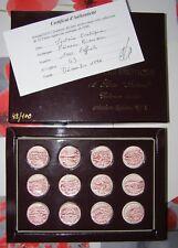 NEX série de 12 fèves – mystère érotique - tirage limité numéroté 43/100 1996